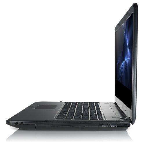 Samsung 350E7C-S0G 43,9 cm (17,3 Zoll) Laptop (Intel Pentium B980, 2,4GHz, 4GB RAM, 500GB HDD, AMD HD 7670M 1GB, DVD, Win 8) schwarz