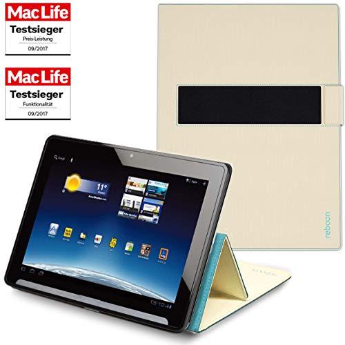 Hülle für Medion Lifetab X10302 Tasche Cover Case Bumper | Testsieger | Beige