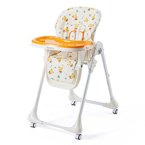 Chaise de Salle à Manger pour Enfants Chaise de bébé Chaise pour bébé Table d'enfant Mobile Chaise de Salle à Manger Pliable multifonctionnelle Chaise d'appoint pour bébé