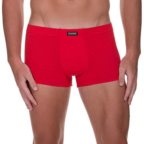 bruno banani Herren Hipshort Check Line 2.0 Boxershorts, Rot (Rot Karo 1070), X-Large (Herstellergröße: XL)