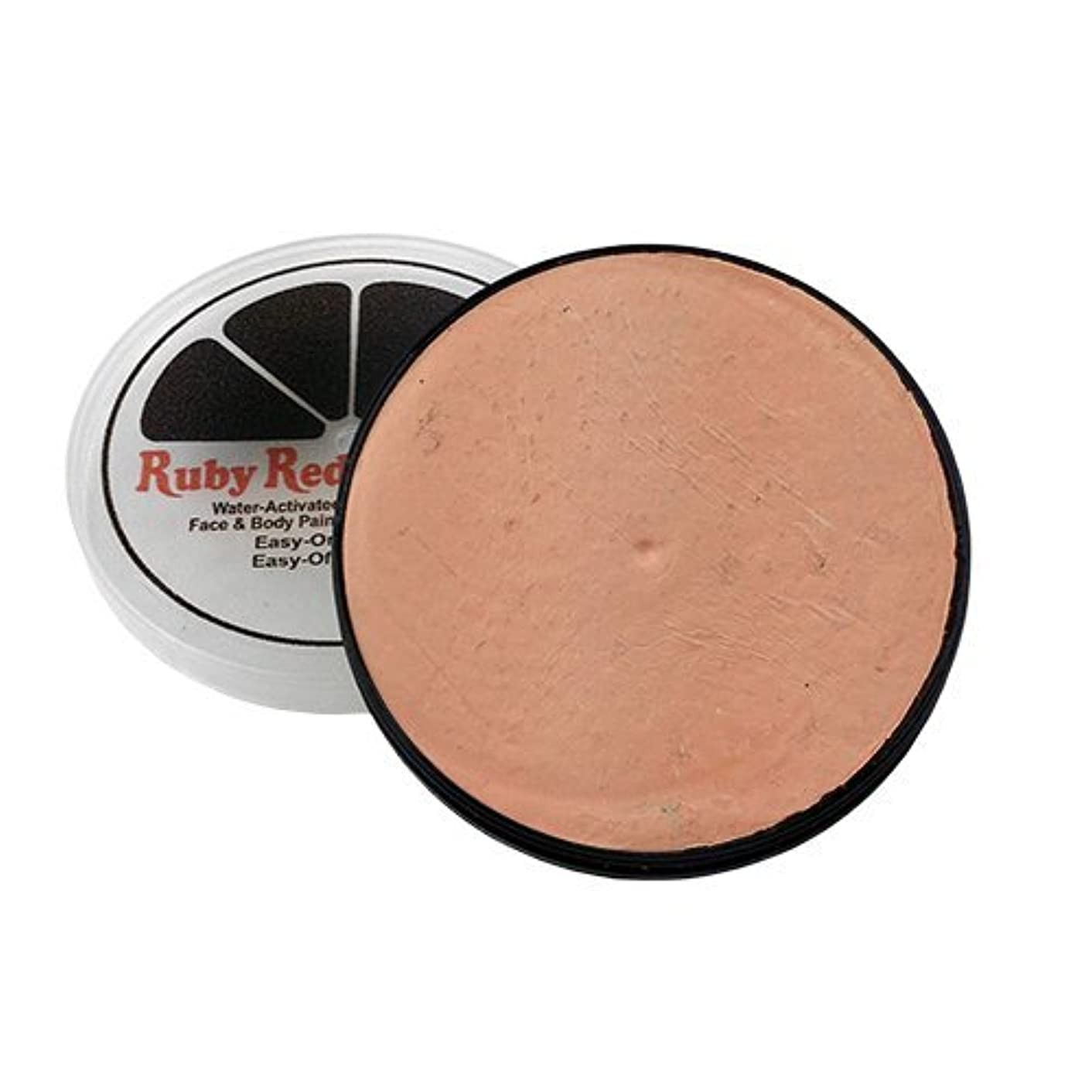 Ruby Red Paint Face Paint, 18 ML - Peach