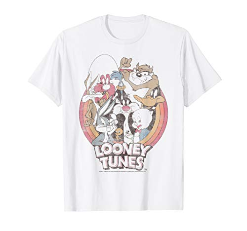 Looney Tunes Retro Group Shot Logo T-Shirt