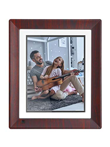 BSIMB Digital Picture Frame 9 Inch WiFi Digital Photo Frame 16GB 1067x800(4:3) IPS Touch Screen Auto Rotate Motion Sensor Support iPhone & Android App/Twitter/Facebook/Email W09