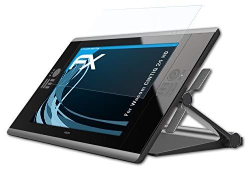 atFoliX Protezione Pellicola dello Schermo Compatibile con Wacom CINTIQ 24 HD Pellicola Protettiva, Ultra-Trasparente FX Proteggi Schermo (2X)