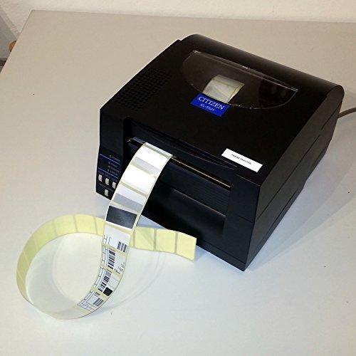 Citizen CL-S521 Thermodirekt Etikettendrucker, 8 Punkte/mm (203dpi), ZPL, Datamax, Dual-IF, schwarz (1000815)