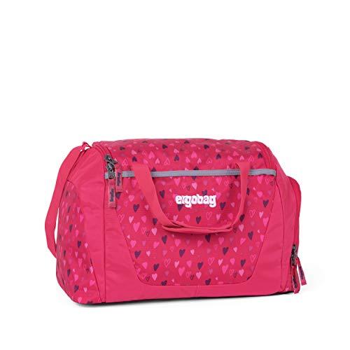 ergobag Sporttasche - mit Nassfach, 20 Liter - HufBäreisen - Pink