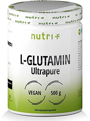 L-GLUTAMIN Pulver 500g Vegan - Neutral & hochdosiert Ultrapure ohne Zusatzstoffe - 99,95{ac9fc81b649b9297b70008780f37a2da9204a377f14685837ff1186e08d05830} natur rein - Fermentiertes L-Glutamine Powder Made in Germany - glutenfrei & laktosefrei