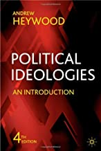 Political Ideologies: An Introduction by Andrew Heywood (19-Apr-2007) Paperback