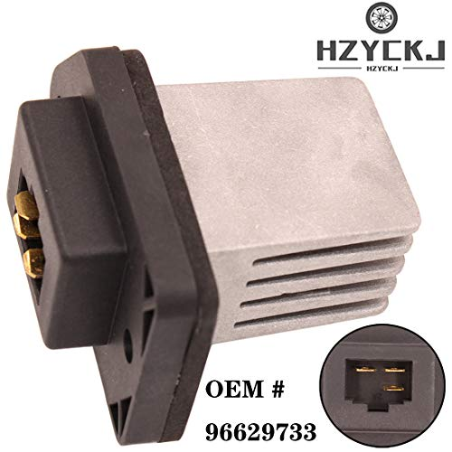 HZYCKJ Resistor del control de la fan del motor del módulo del regulador de la velocidad del ventilador del coche OEM # 96629733