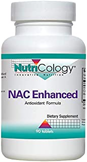 NutriCology NAC Enhanced 90 Tablets