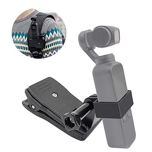 Rucksack Clip for DJI OSMO Pocket, Handheld Ständer Expansion Zubehör Halterung mit Rucksack Clip für DJI OSMO Pocket Gimbal Kamera Stabilisator Halter