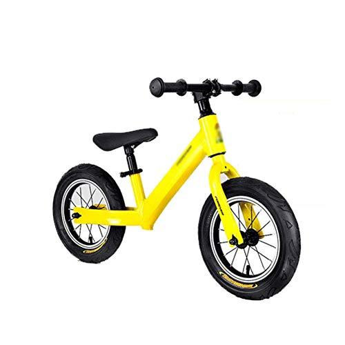 DSHUJC Bicicleta de Equilibrio para niños de 1 a 5 años, Bicicletas para Caminar con Manillar y Asiento Ajustables, Bicicleta sin Pedales para niñas y niños