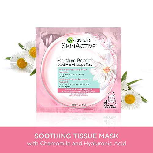 Garnier SkinActive Moisture Bomb The Super Hydrating Smoothing Mask, 1.08 F