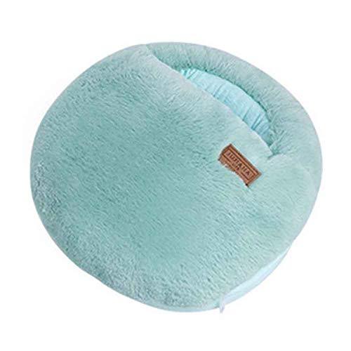 Mehrzweck-waschbarer Winter Plüsch Pantoffel USB-Aufladungsheizung Fußwärmer Für Haus und Büro #Grünes Macaron
