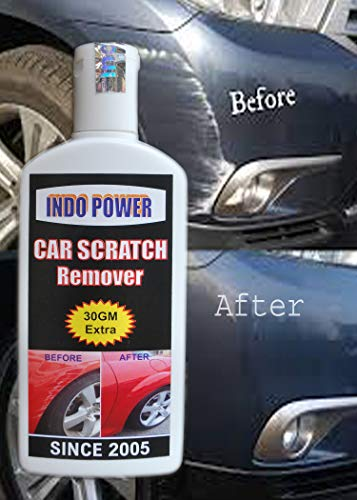 INDOPOWER HDCCc882-CAR Scratch Remover 100gm. All Colour Car & Bike Scratch Remover (Not for Dent & Deep Scratches).