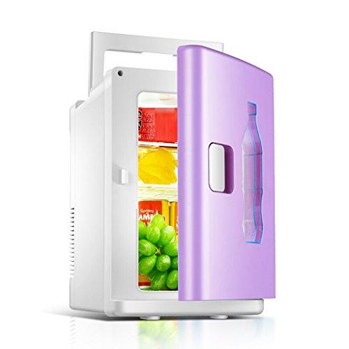 JCOCO Mini Frigo 10L Mute Reefer Cooler Box (Home Office e uso auto) (colore : Viola)