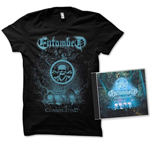 Clandestine-Live (Ltd.Edition CD+T-Shirt Xl)