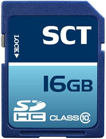 Professional SCT SD SDHC 16GB (16 Gigabyte) Memory Card for Canon Powershot G12 A800 A3200 IS A3300 A2200 SX220 HS SX230 Ixus 310 220 115 Elph 300 Elph 100 HS with custom formatting