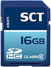 Professional SCT SD SDHC 16GB (16 Gigabyte) Memory Card for Canon Powershot G12 A800 A3200 IS A3300 A2200 SX220 HS SX230 I...