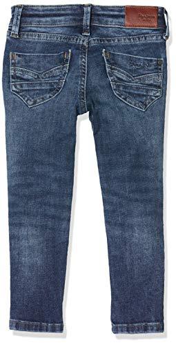 Pepe Jeans PIXLETTE Jeans, Azul (Medium Used Denim Gk5), 15-16 años (Talla del Fabricante: 16) para Niñas