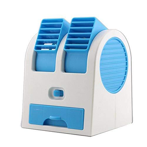 YWLINK Tragbarer Mini-USB Mobile Klimaanlage Wiederaufladbar Schlafzimmer BüRo Luftbefeuchtung Klima Anlage FüR Den Desktop Im Freien