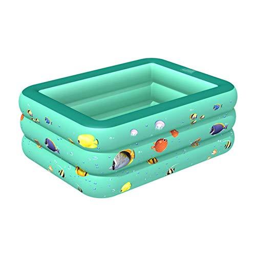 yummyfood123 Piscina Hinchable Piscina Inflable para Niños, Piscina para Niños, Piscina Gruesa para Niños, Estanque De Juegos, Piscina Familiar para Niños Pequeños