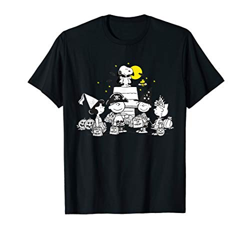 Peanuts Halloween Group T-Shirt for Men, Women, Youth