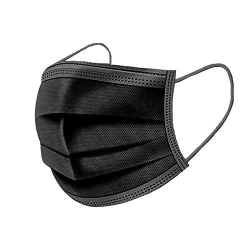 Desechable de 3 capas - 50 piezas - negra