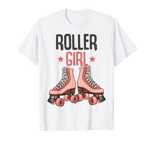 Rollschuhe Roller Girl Roller Skates Rollschuh Mädchen T-Shirt