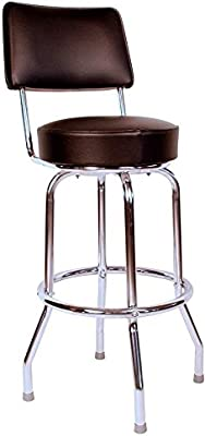 Fabulous Amazon Com Richardson Seating Swivel Bar Stool With Back Ncnpc Chair Design For Home Ncnpcorg