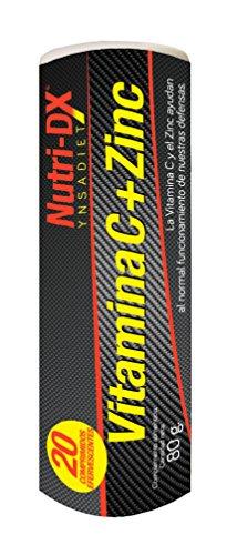 YNSADIET Vitamin C + Zinc 20 Effervescent Tablets, 30 g