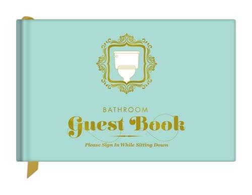Knock Knock Bathroom Guest Book (50012)