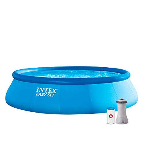 INTEX - Kit piscine Easy Set gonflable 4,57 x 1,07 m