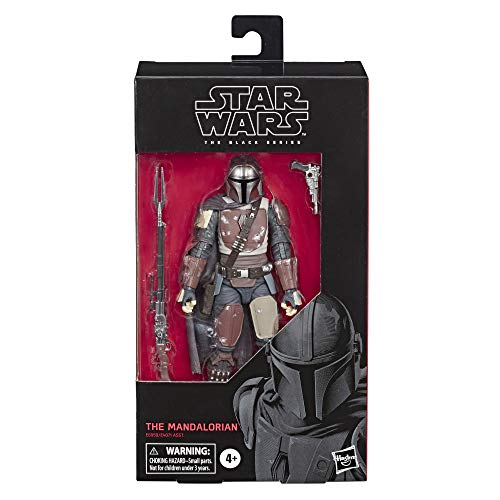 STAR WARS The Black Series The Mandalorian Toy 6' Scale Collectible Action Figure, Toys for Kids Ages 4 & Up