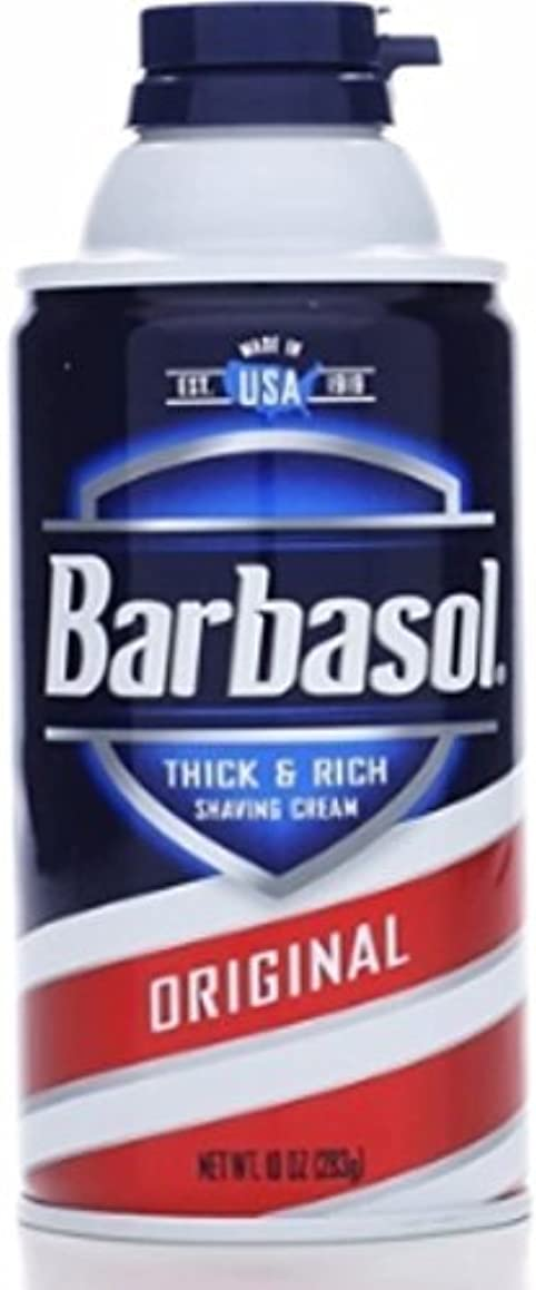 地域アルネ次Barbasol Beard Buster Shaving Cream Original 10 oz (Pack of 6) [並行輸入品]