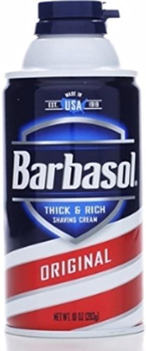 ベギン大佐クレデンシャルBarbasol Beard Buster Shaving Cream Original 10 oz (Pack of 6) [並行輸入品]