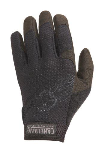 Vent Gloves Black Logo (XXL)