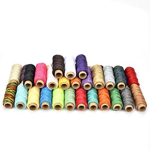VINGVO Handstichwerkzeug, Nähzubehör, langlebig Faser-Monofilament 50 Meter/Rolle für Lederhandwerk Handstich-Leder