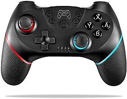 Pro Controller inalámbrico, ASTARRY Gamepad inalámbrico con Gyro Axis (botones Turbo) Compatible con Nintendo Switch