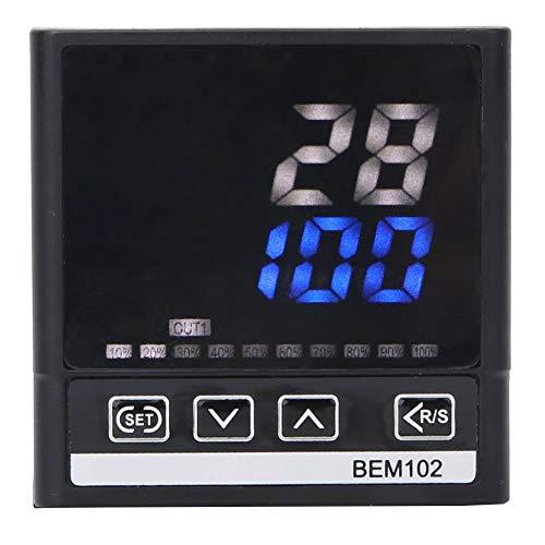 RELAIS/SSR-Ausgang 0-400 ° C 50 / 60Hz-Thermostat, hochgenauer digitaler Temperaturregler, Backöfen-Industriekessel für Heizöfen Petrochemikalien