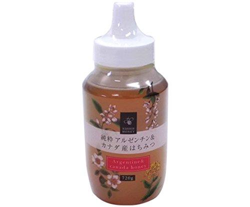 日新蜂蜜 純粋アルゼンチン&カナダ産はちみつ720g×12本(ケース)