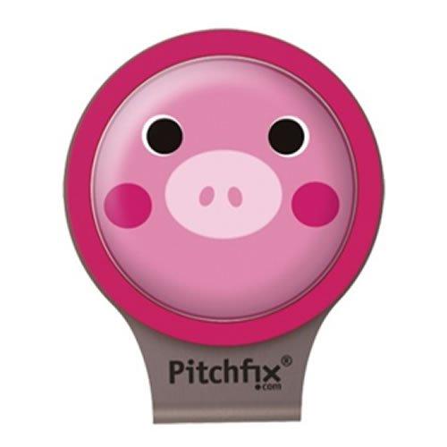 ライト(LITE) グリーンマーカー ピッチフィックス Hat Clip ピンク  X650 ピンク