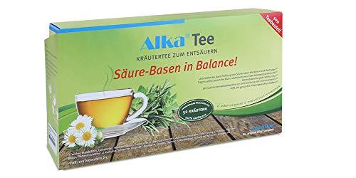 Alka® Tee: Basischer Kräutertee zum Entsäuern aus 52 Kräutern - 100 Teebeutel-