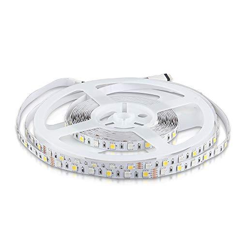 Streifen 300 LEDs Multicolor RGB+W 5 mt 9W/m 2159 VT-5050-NON WP