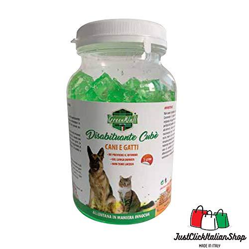 Greenwall Abwehrmittel gegen Hunde und Katzen, Cubogel, wasserfest, 1 l