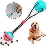 WYB Juguete de Cuerda de tirn de Perro Duradero Ventosa Juguete Seguro no txico para Todo Tipo de Perros, A
