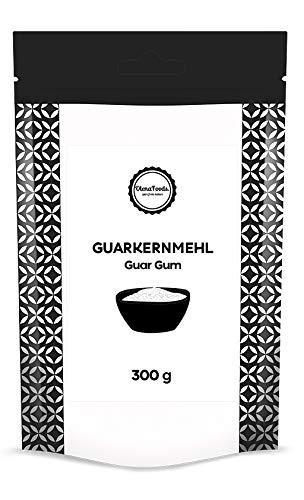 Guarkernmehl 300g, Guar Gum Pulver, Lebensmittelqu...