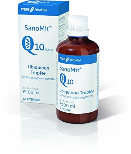 SanoMit Q10 flüssig mit 5% Ubiquinon (1x SanoMit 100ml)