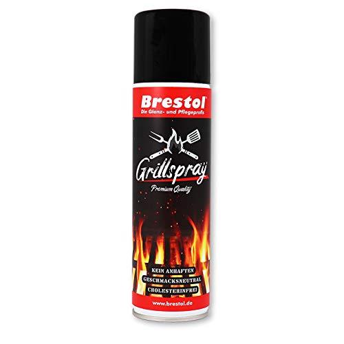 Brestol Grillspray 200 ml (2470) - Trennfett zum Grillen Antihaftspray Trennspray Trennmittel Grillen Vegan
