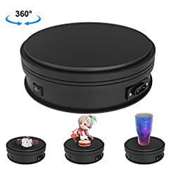 WIDELY USE - Used For Theme Exhibition, Window Display, Product Display, Photograph Show, Cube Spin Display, Advertising. Provide Customer 360 degree view of your product and allow Photographer to take photos in 360° degree view. Improve the exhibiti...